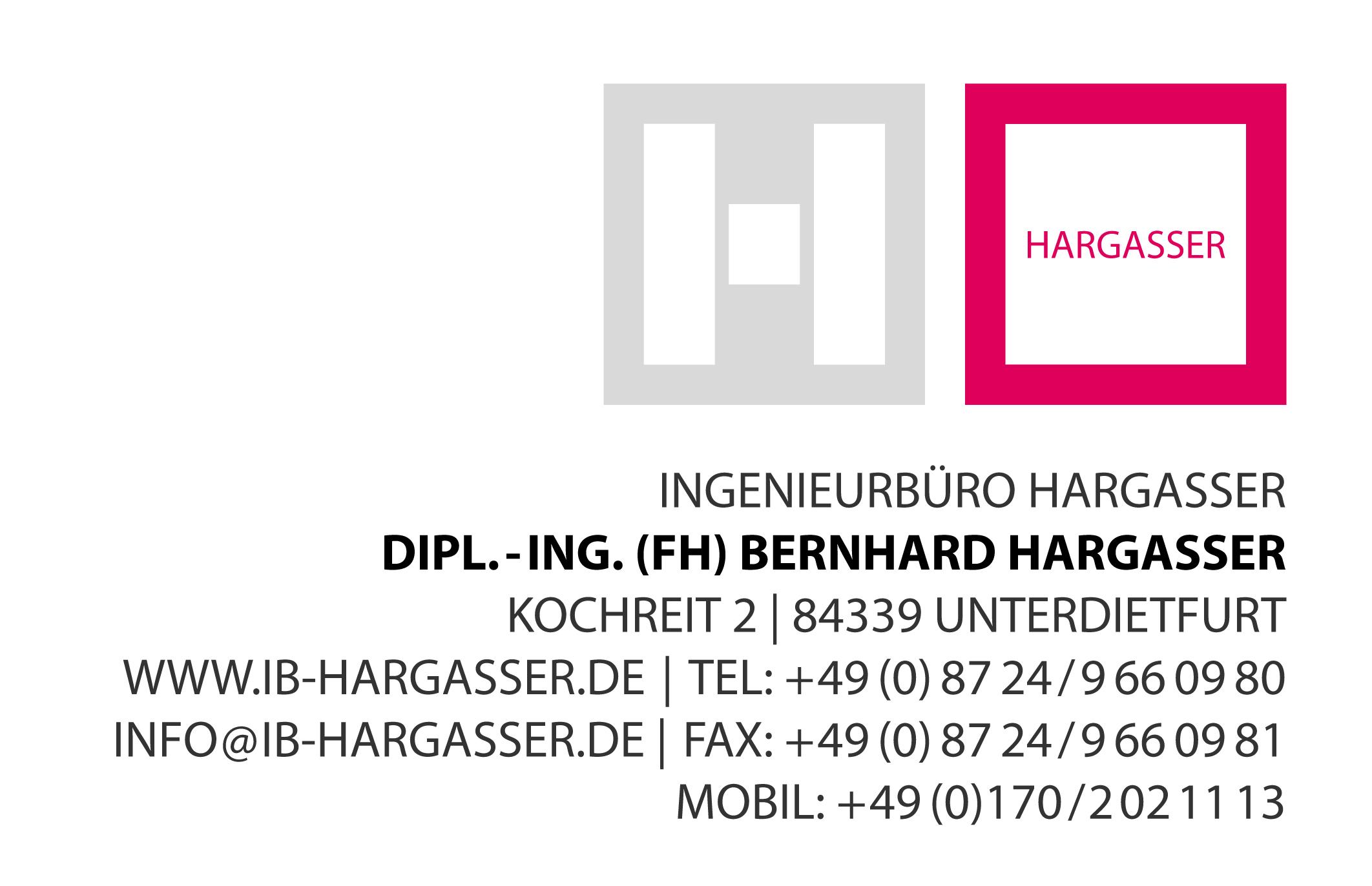 Dipl Ing Fh Bernhard Hargasser